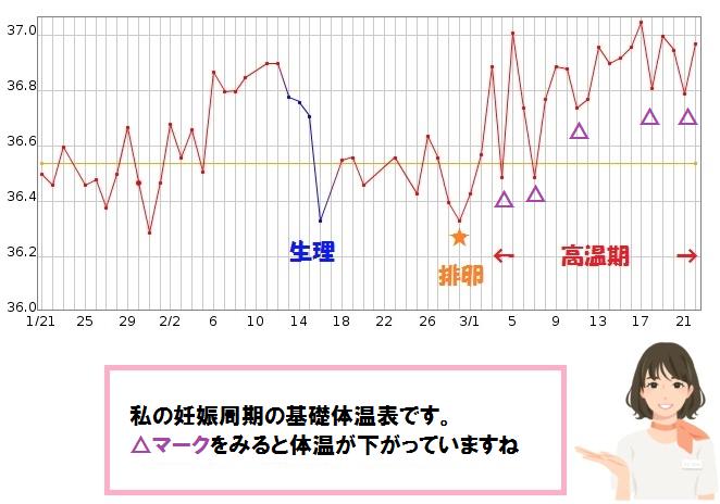 妊娠 基礎 体温